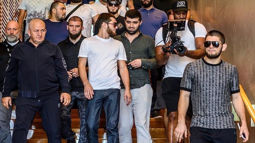 Нурмагомедов заявил, что хотел бы снова выступить в Абу-Даби