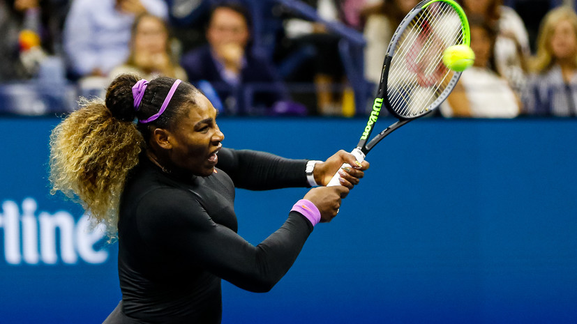 Уильямс о поражении в финале US Open: Андрееску провела невероятный матч