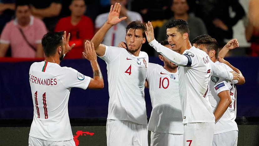 Сенсация от Косова, лидерство Украины и первая победа Португалии: обзор матчей квалификации Евро-2020