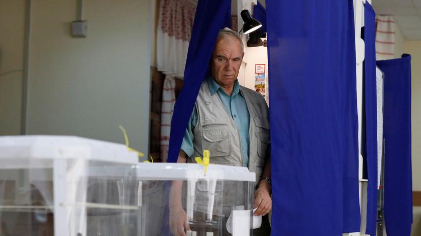 Явка на выборы депутатов Мосгордумы на 12:00 составила 5,6%