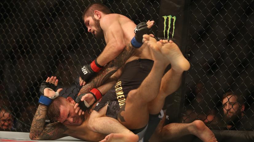 Нурмагомедов получил самый большой гарантированный гонорар в истории UFC