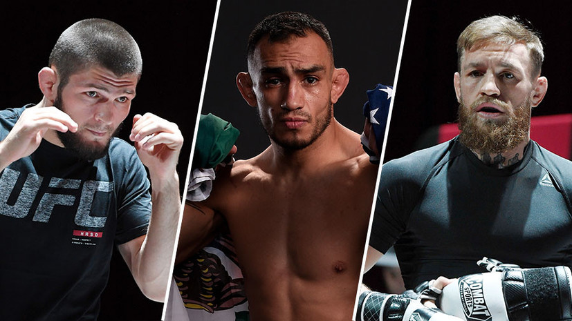 Бой Нурмагомедова с Фергюсоном, возвращение Макгрегора и отпуск Порье: что может ждать UFC после турнира в Абу-Даби