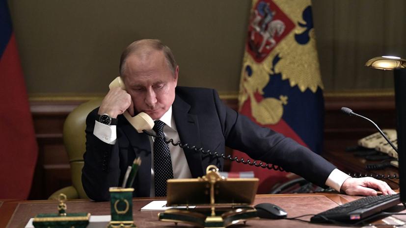 Путин и Макрон обсудили по телефону обмен между Россией и Украиной