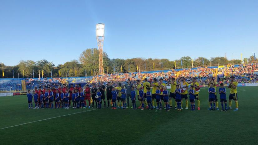 «Ростов» разгромил сборную Сирии по футболу в контрольном матче