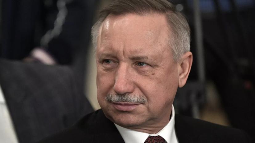 Беглов лидирует на выборах главы Петербурга