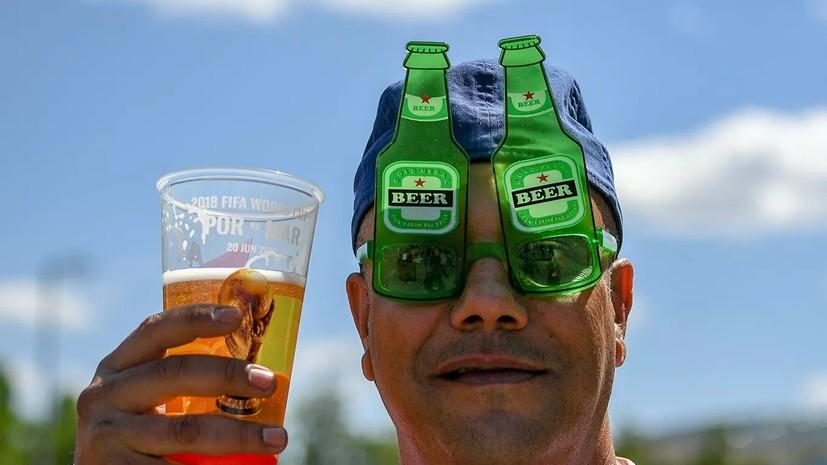 СМИ: Минфин поддержит закон о продаже пива на стадионах