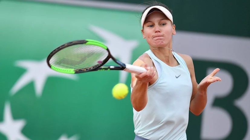 Кудерметова обыграла Лепченко и вышла во второй раунд турнира WTA в Хиросиме