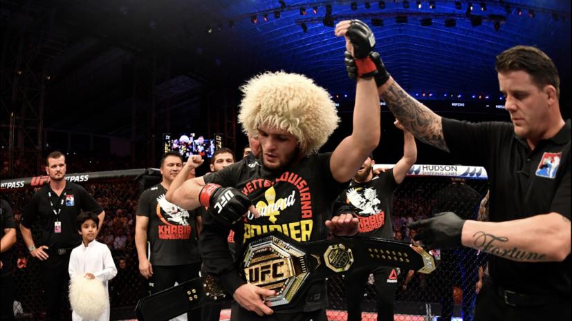 Глава UFC готов организовать бой между Нурмагомедовым и Сен-Пьером