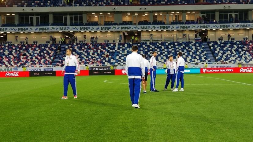 Сборная России по футболу объявила стартовый состав на матч с Казахстаном