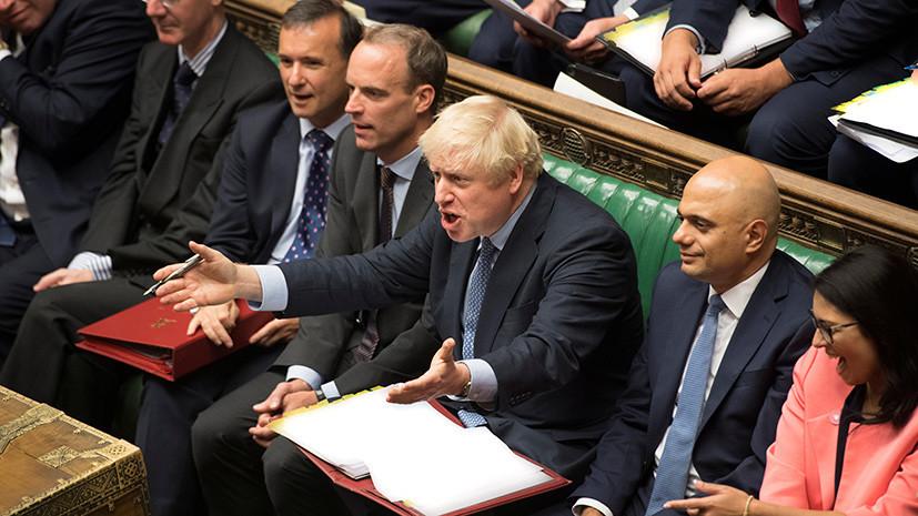 Тупик Джонсона: британский парламент отказал премьеру в проведении досрочных выборов
