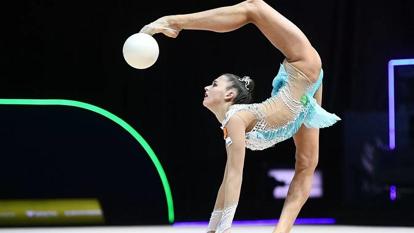 Солдатова не выступит на ЧМ по художественной гимнастике в Баку