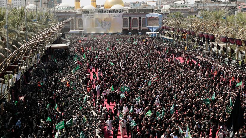 СМИ: В Ираке в давке погибли более 30 человек