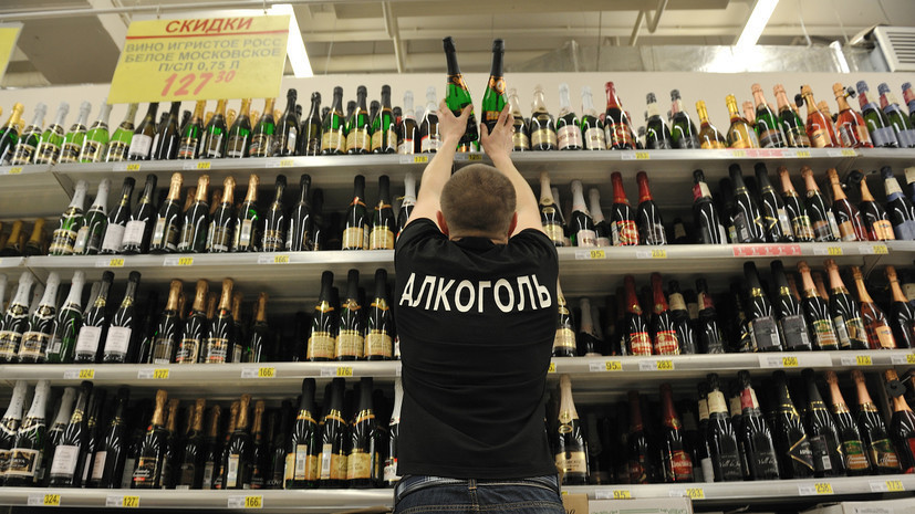 Проект о запрете продажи алкоголя до 21 года одобрили ведомства