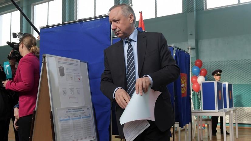 Горизбирком утвердил победу Беглова на выборах губернатора Петербурга