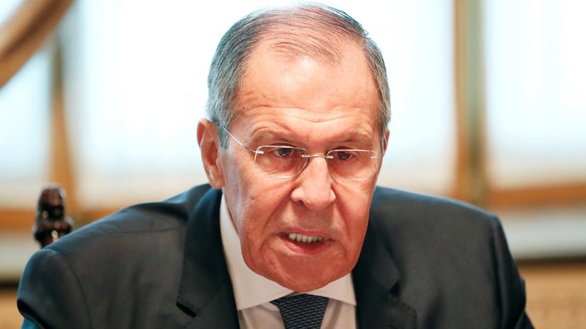 Лавров заявил об окончании войны в Сирии