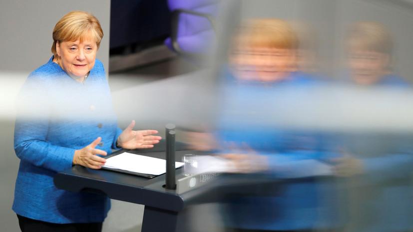 Меркель сообщила о работе над проведением нормандского саммита