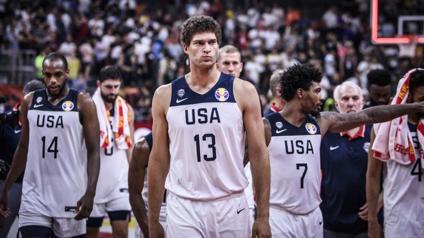Сборная США по баскетболу потерпела первое поражение за 13 лет