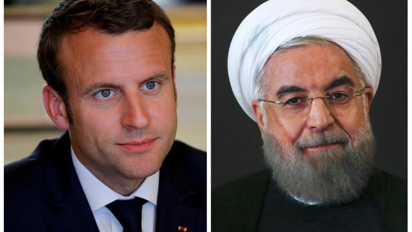 Рухани и Макрон обсудили ядерную программу Ирана