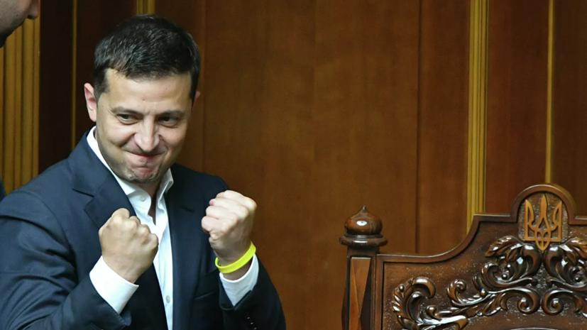 Уровень одобрения деятельности Зеленского на Украине вырос в 1,5 раза
