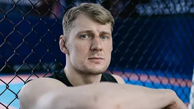 Волков: включусь в гонку за пояс UFC в случае победы над дос Сантосом на турнире в Москве