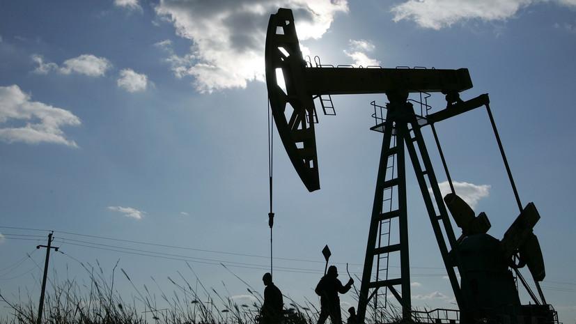 Цена нефти Brent упала ниже $60 за баррель