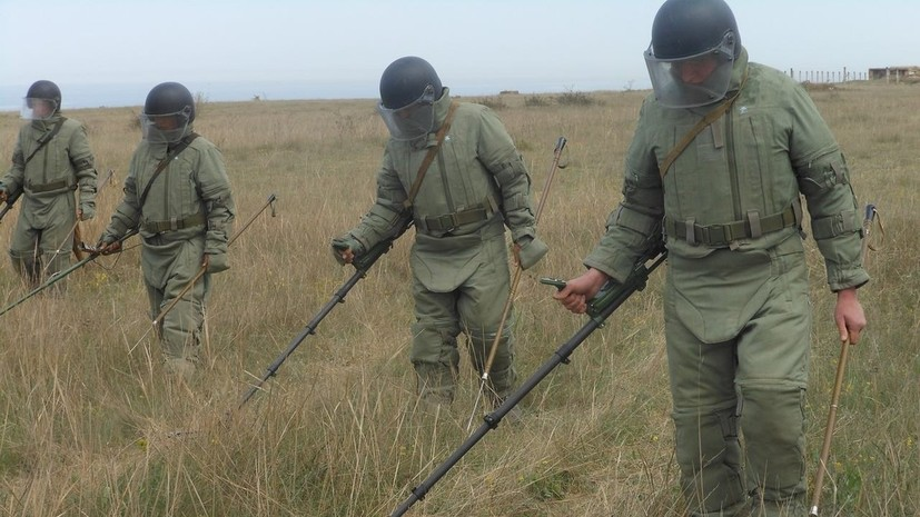 Морские инженеры ЧФ развернули полевой лагерь на полигоне боевой подготовки
