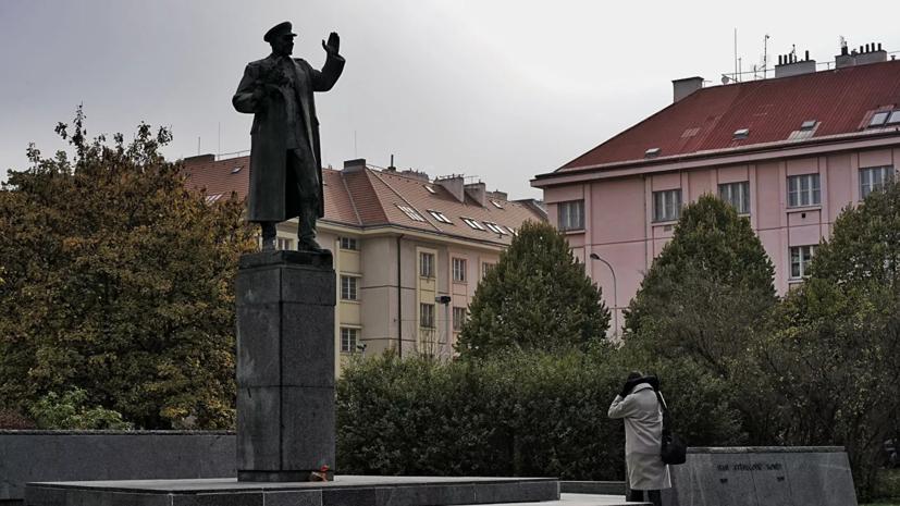 Посольство России в Чехии возмутилось решением по памятнику Коневу