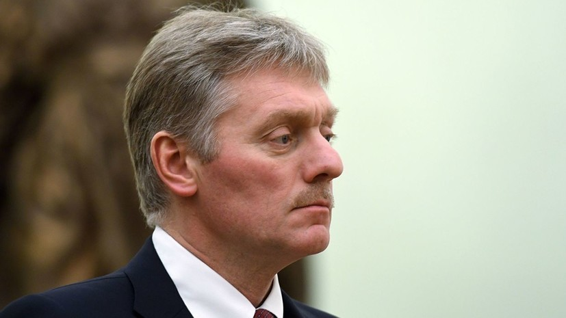 В Кремле оценили призыв Зеленского сохранять санкции против России