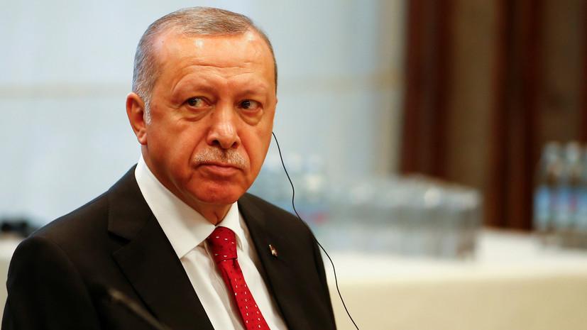 Эрдоган назвал главную тему саммита России, Турции и Ирана