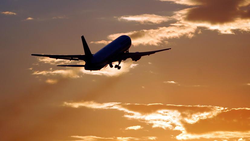 Самолёт из Казани сел в Крыму после сообщения о взрывном устройстве