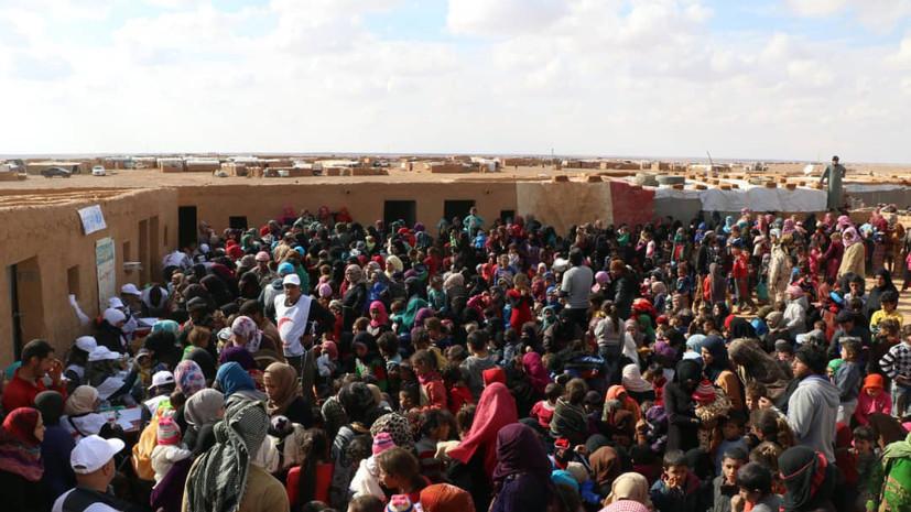 ЦПВС: в лагерь «Эр-Рукбан» не пустили автобусы для эвакуации людей
