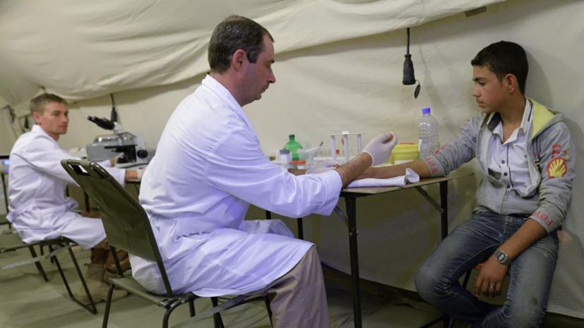 Российские военные врачи в Сирии провели более 37 тысяч операций