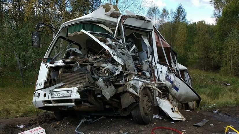 Число пострадавших в ДТП с автобусом в Ярославской области достигло 29