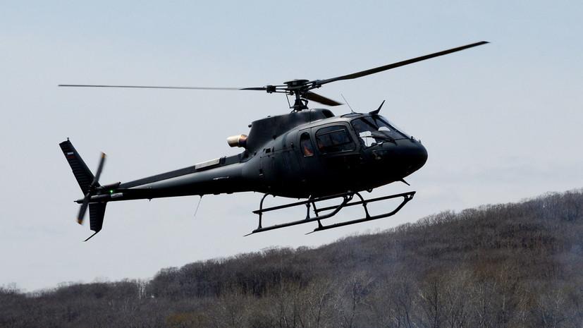 Вертолёт добывающего предприятия пропал в Якутии