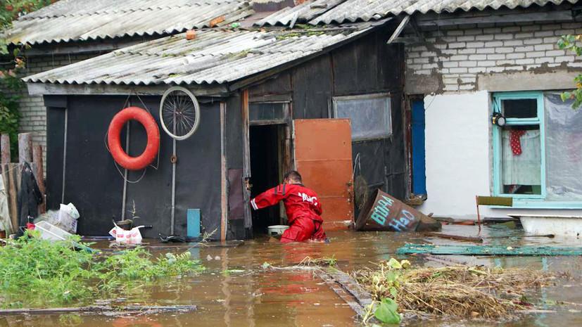 В МЧС сообщили о ситуации с паводками в Хабаровском крае