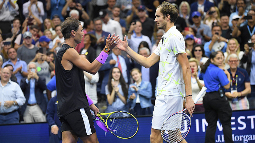 Надаль назвал Медведева лучшим теннисистом нового поколения