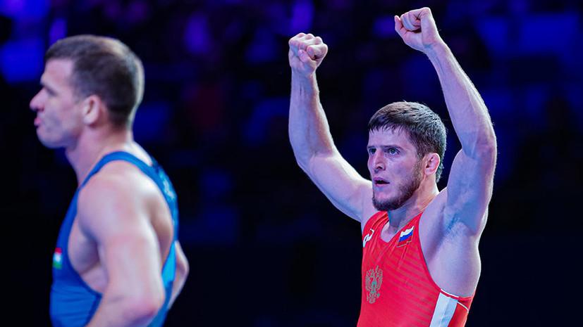 Золотосеребряный сплав: сборная России выиграла первые медали на ЧМ по борьбе в Нур-Султане