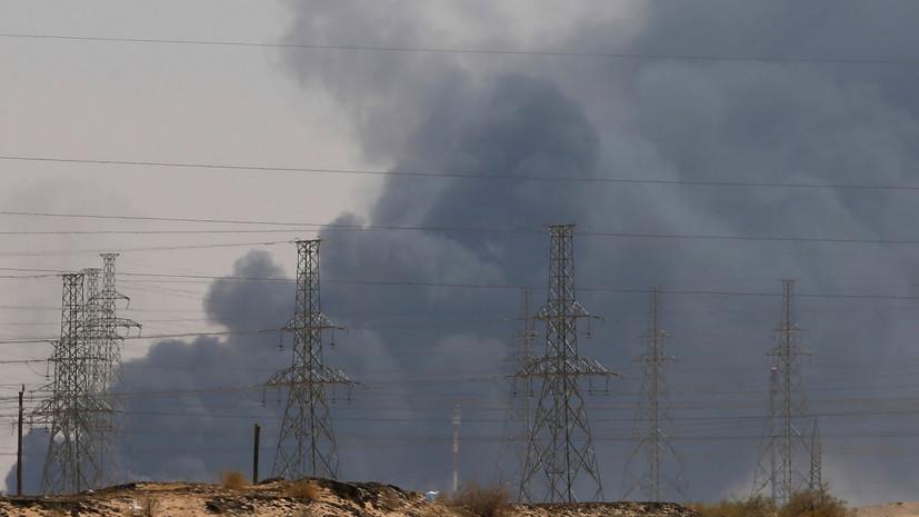 WSJ: Эр-Рияд намерен к 16 сентября на треть восстановить нефтедобычу