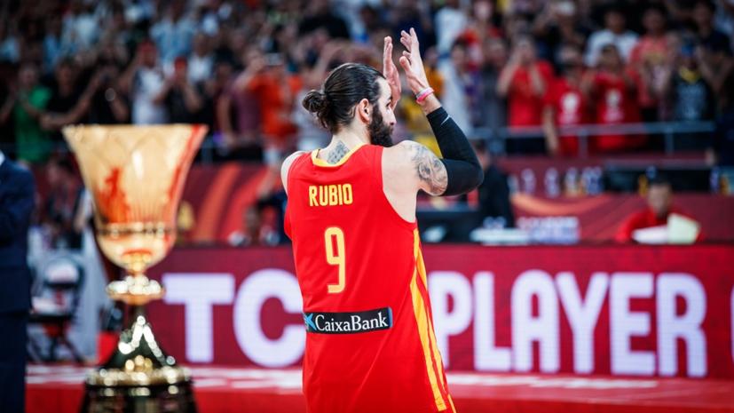 Баскетболист Рубио рассказал о роли матери в своей жизни после победы на ЧМ