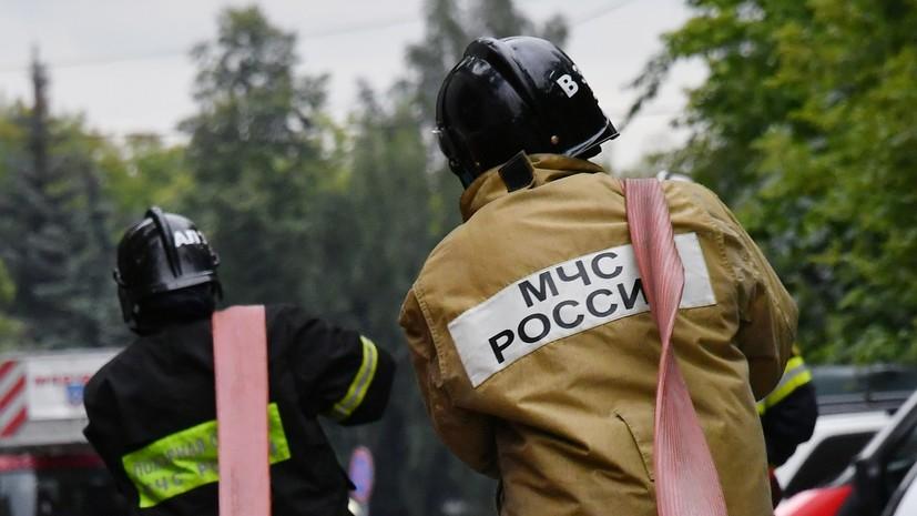 В МЧС сообщили о восьми погибших при пожаре в жилом доме в Красноярске