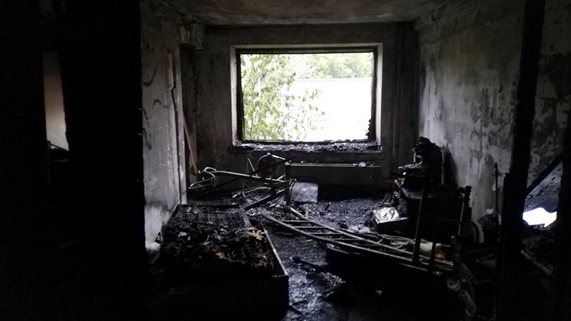 Восемь погибших: в многоквартирном доме в Красноярске произошёл пожар