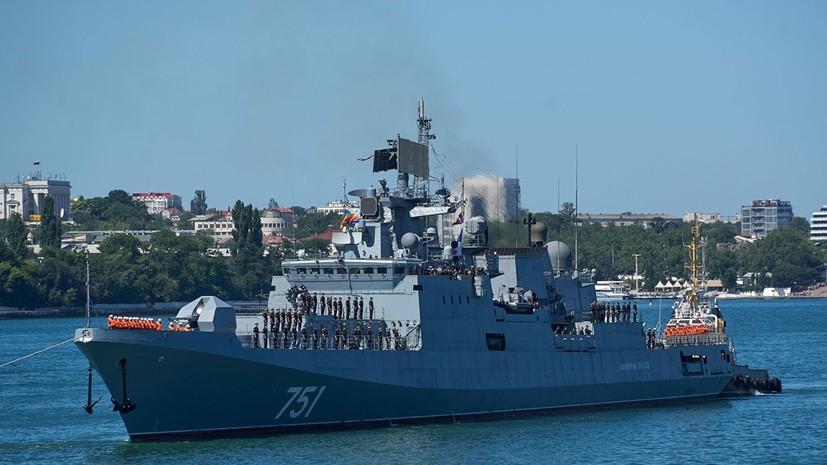 Около 3 тысяч военнослужащих ЧФ подняты по тревоге для учений в Крыму