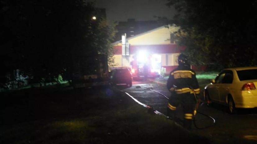 Очевидец рассказал о пожаре в жилом доме в Красноярске