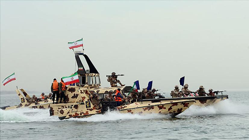Иранские военные заявили о задержании судна с контрабандным топливом