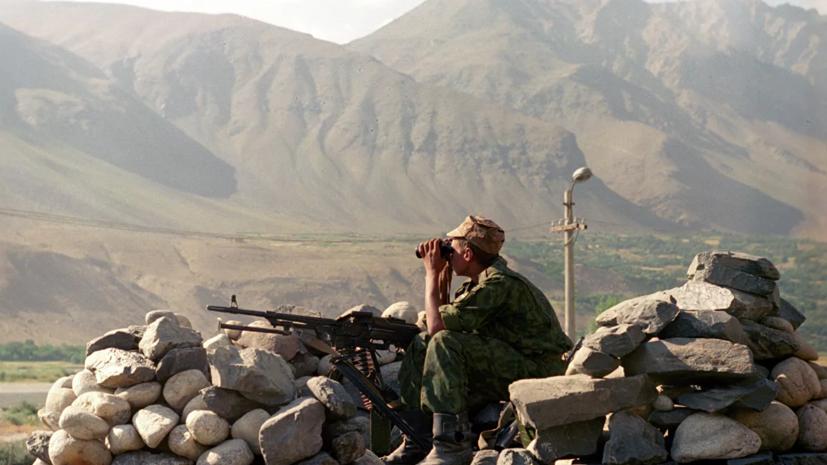 На границе Киргизии и Таджикистана в перестрелке погиб пограничник