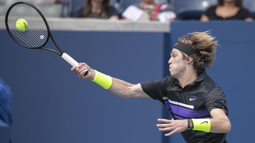 Стали известны соперники Рублёва и Донского на турнире ATP в Санкт-Петербурге