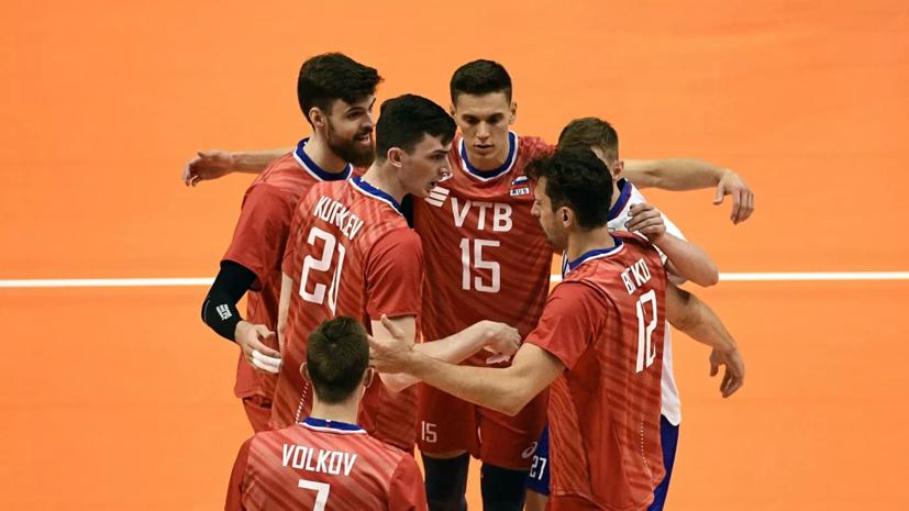 Сборная России победила Финляндию на ЧЕ по волейболу