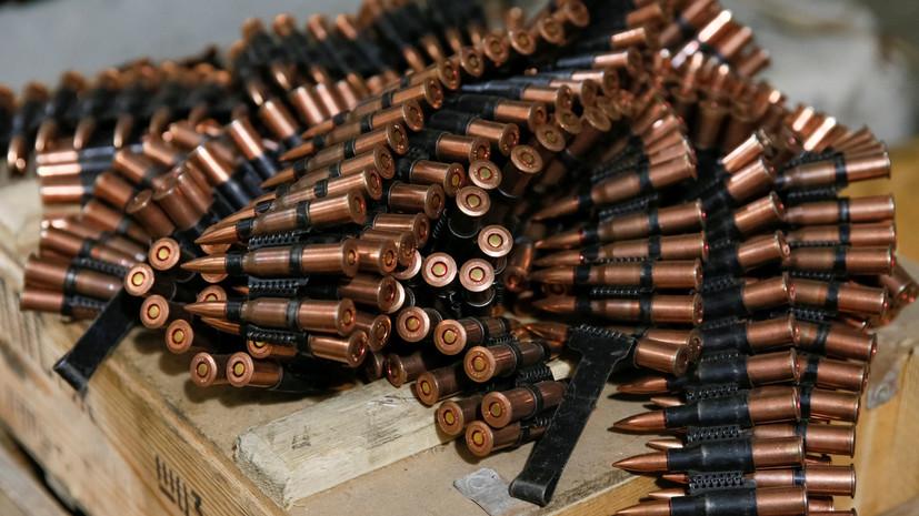 КГБ Белоруссии пресёк контрабанду оружия с Украины в Россию
