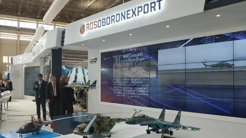 «Рособоронэкспорт» назвал объём экспорта средств ПВО и РЭБ с 2000 года