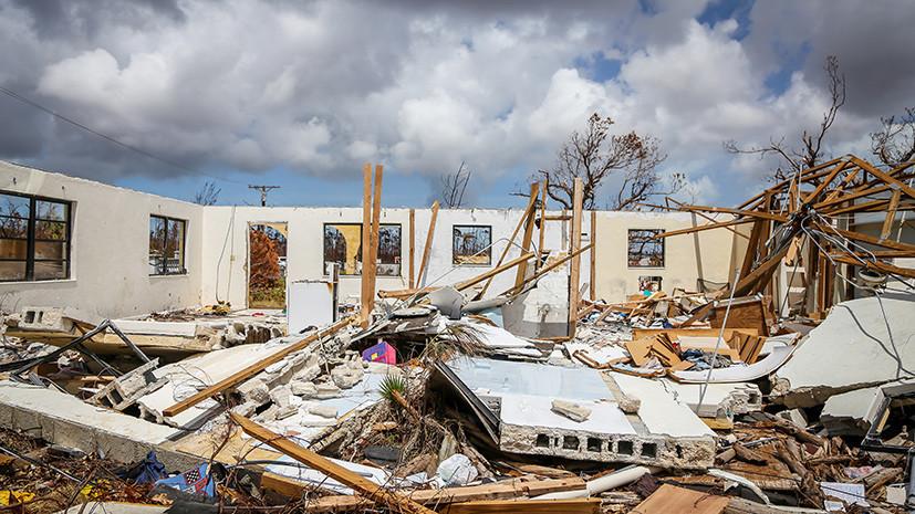 В США предупредили об усилении урагана «Умберто» в Атлантике